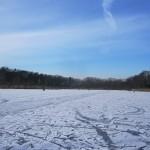 IJs op het lonnekermeer zondag 5 februari 2012